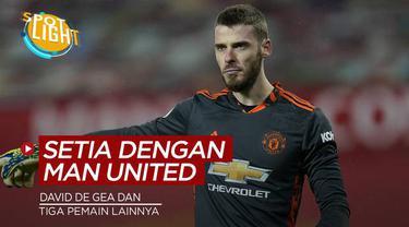 Berita video spotlight kali ini membahas tentang empat pemain Manchester United yang paling setia membela Manchester United.