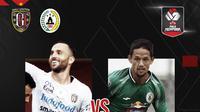 Piala Menpora: Bali United vs PS Sleman. (Bola.com/Dody Iryawan)