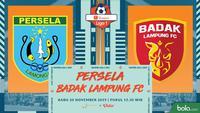 Shopee Liga 1 - Persela Lamongan Vs Badak Lampung FC (Bola.com/Adreanus Titus)