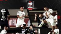 Semifinal Piala Menpora: PSS Sleman vs Persib Bandung. (Bola.com/Dody Iryawan)
