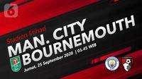 Manchester City vs Bournemouth (Liputan6.com/Abdillah)