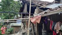 Gempa Sukabumi merusak sejumlah rumah warga. (dokumentasi BNPB)