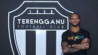 Mantan striker Persebaya Surabaya, David da Silva, kini bergabung bersama klub Malaysia, Terengganu FC. (Dok. Terengganu FC)