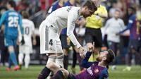 Jika semua berjalan sesuai rencana maka ini jelas jadi hal yang menguntungkan bagi PSG. Bergabungnya Ramos dan Messi dipastikan akan memperbesar peluang tim arahan Mauricio Pochettino untuk meraih trofi Liga Champions pertama mereka pada musim 2021-2022. (Foto: AFP/Curto De La Torre)