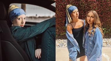 6 Ilustrasi Jika 'Girl with a Pearl Earring' Hidup di Dunia Nyata Ini Bikin Tepuk Jidat