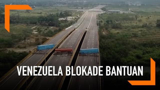 Venezuela menutup akses jalan dari Kolombia menyusul aksi blokade bantuan kemanusiaan untuk negaranya. Sebelumnya Venezuela juga menolak bantuan kemanusiaan dari AS.