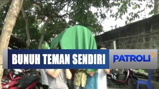 Kunci motor yang hilang ditemukan teman, seorang pria di Ciledug, Tangerang, malah bunuh temannya.