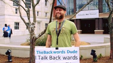 John Sevier Austin, Backwords Dude (Facebook)