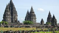 Candi Prambanan di perbatasan Jawa Tengah dan DIY. (Pixabay)
