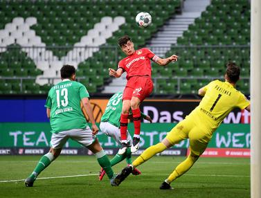 FOTO: Bayer Leverkusen Libas Werder Bremen 4-1