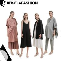 Intip Baju Hamil Stylish dari Duma Motherhood Collection 2019
