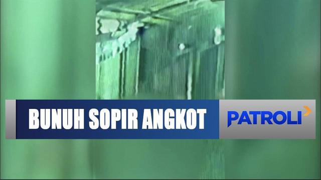 Polsek Cimanggis menangkap pembunuh seorang sopir angkot di kawasan Lenteng Agung, Jakarta Selatan.