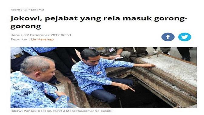 Gambar Tangkapan Layar Artikel dari Situs merdeka.com.