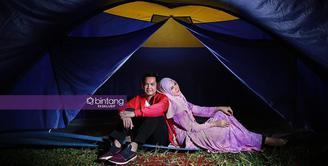Tommy Kurniawan dan Lisya Nurrahmi masih canggung berpelukan meskipun telah menikah.
