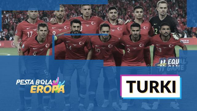 Berita video profil tim turki di Piala Eropa 2020.