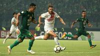 Persebaya meraih kemenangan 3-0 atas PSM Makassar, Sabtu (10/11/2018) di Stadion Gelora Bung Tomo, Surabaya. (Bola.com/Aditya Wany)