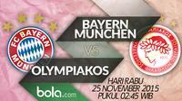 Bayern Munchen vs Olympiakos (Bola.com/Samsul Hadi)