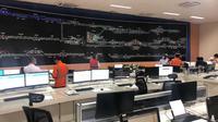 Operation Control Centre atau pusat pengendali kereta api di Manggarai resmi dioperasikan (dok: PT LEN)