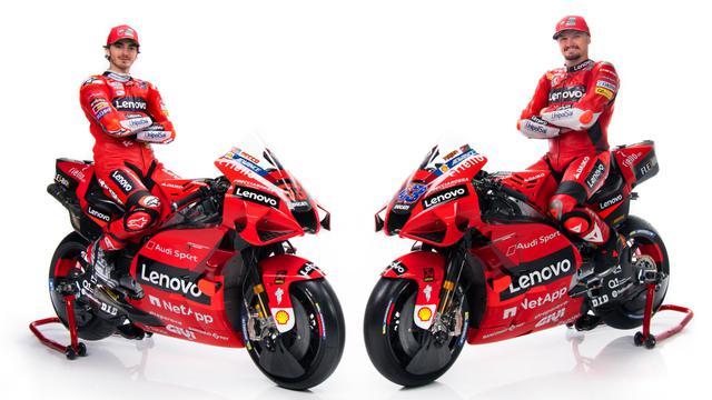Duo Ducati di MotoGP 2021