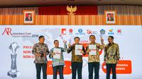 PT Pembangkitan Jawa-Bali (PT PJB) meraih Juara 1 pada gelaran Annual Report Award 2018 pada kategori Private Non Keuangan Non Listed. (Dok. PT PJB)