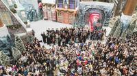 Bandara Changi menyajikan nuansa liburan akhir tahun untuk pengunjung dan fans dengan tema Wizarding World Holiday at Changi.