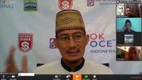 Sandiaga Uno menjadi narasumber dalam Webinar The Series Fakultas Ekonomi dan Bisnis Islam Universitas Islam Negeri (UIN) Sunan Kalijaga Yogyakarta