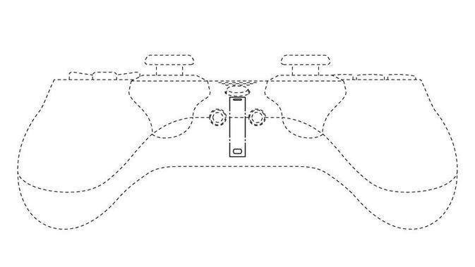 Bocoran tampilan paten DualShock 5. (Doc: JPO)