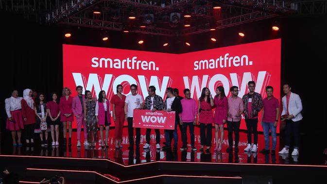 Konferensi pers Smartfren WOW Concert. Liputan6.com/Keenan Pasha