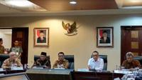 Kementerian PANRB paparkan mengenai penerimaan CPNS 2018 (Foto: Liputan6.com/Maulandy R)