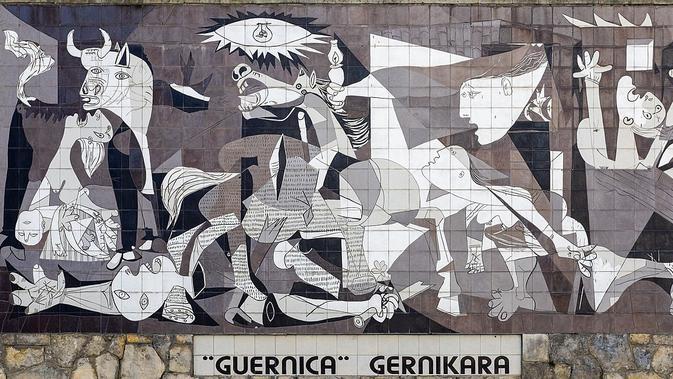 Lukisan Guernica (wikimedia commons)