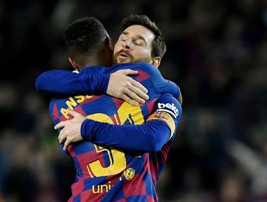 Foto: 5 Talenta Muda Harapan Barcelona, Ansu Fati Penerus Lionel Messi