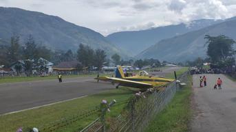 Pesawat Angkut BBM 'Nyungsep' di Perbatasan Kaltara