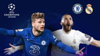 Liga Champions: Chelsea vs Real Madrid. (Bola.com/Dody Iryawan)
