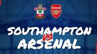 Piala FA: Southampton Vs Arsenal. (Bola.com/Dody Iryawan)