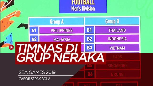 Berita Video Sea Games 2019, Timnas Indonesia Berada di Grup Neraka
