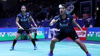 Ganda putri Indonesia Greysia Polii / Apriyani Rahayu gagal mempertahankan gelar juara French Open. Greysia / Apriyani kalah dari pasangan Jepang, Mayu Matsumoto / Wakana Nagahara. (Humas PB PBSI)
