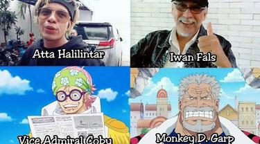 7 Seleb Tanah Air yang Mirip Karakter One Piece ala Netizen, Siapa Saja? (sumber: Instagram.com/receh.id)