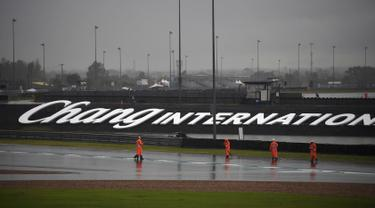 Hujan Lebat, Sesi Latihan dan Kualifikasi MotoGP Thailand Ditunda