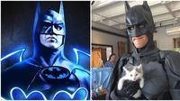 Chris Van Dorn, Batman Versi Nyata (Sumber: Boredpanda/Instagram/@batman)