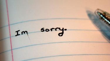 Surat Cinta Maafkan Aku Yang Mencintaimu Lifestyle