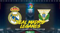 La Liga - Real Madrid Vs Leganes (Bola.com/Adreanus Titus)