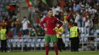Cristiano Ronaldo mencetak 2 gol saat Portugal menang 2-1 atas Republik Irlandia di kualifikasi Piala Dunia zona Eropa (AFP)