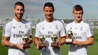 Real Madrid (Situs resmi Real Madrid)