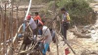 Berkali-kali dirazia polisi, aktivitas penambangan emas liar di Jambi tetap marak dan makin meluas. (B Santoso/Liputan6.com)