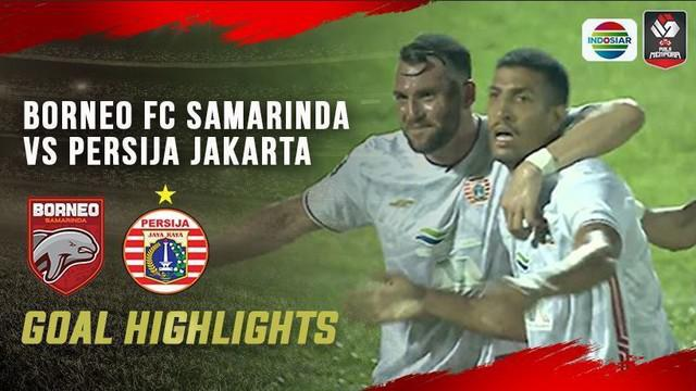 Berita video gol-gol yang tercipta saat Persija Jakarta mengalahkan Borneo FC Samarinda di Grup B Piala Menpora 2021, Sabtu (27//3/2021) malam hari WIB.