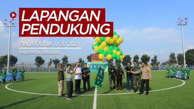 Berita video Ketum PSSI, Iwan Bule, meresmikan lapangan pendukung untuk Piala Dunia U-20 2021, Rabu (22/7/2020).
