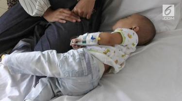 Seorang Balita Berusia 8 Bulan Di Surabaya, Terjangkit Penyakit Langka, Yakni Kawasaki.
