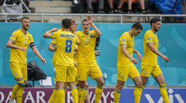 Piala Eropa 2020 Ukraina Melawan Makedonia Utara