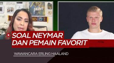 Berita Video wawancara Erling Haaland, soal ejekan Neymar dan aktifitas selama pandemi virus corona
