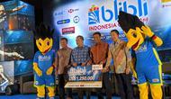 Konferensi pers Blibli Indonesia Open 2019 di Ritz-Carlton hotel, Jakarta, Rabu (26/6/2019). (Bola.com/Muhammad Adyaksa)